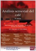 ANALISIS SENSORIAL DEL CAFÉ/INTRODUCIÓN AL BARISMO  Nivel intermedio