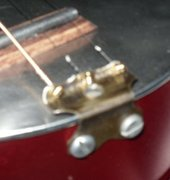 tailpiece close up