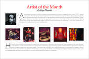 Artist of the month (Aditya Basak)