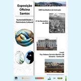 Exposição Oficina Santos na UME Auxiliadora da Instrução