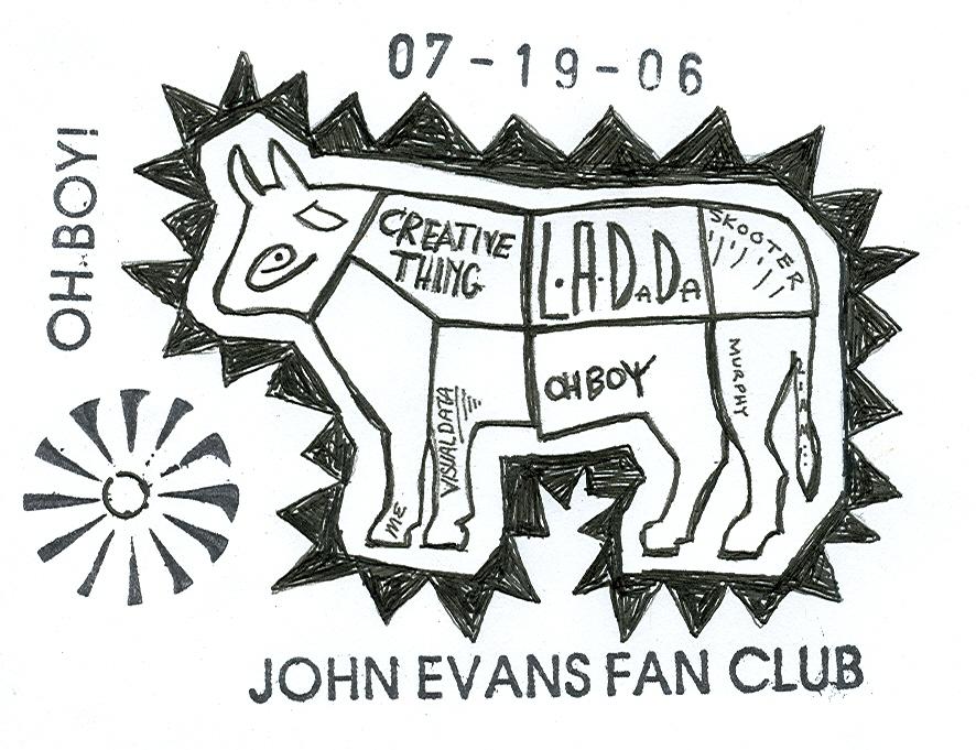 John Evans visits LA