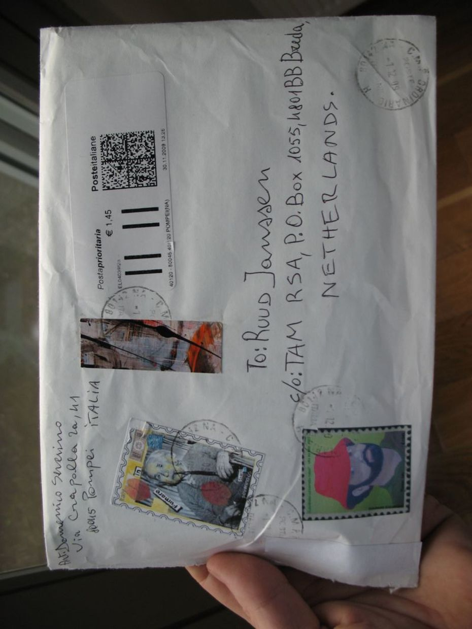 Incoming Mail-Art Ruud Janssen
