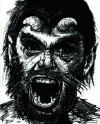 angry caliban
