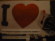 Phobia - 'I'm Afraid of reaching inside the mailbox' (U.S)