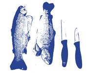 fish and knives