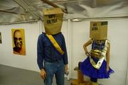 Critical Mass Mail Art Show at pLAyLAnd