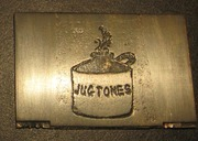 Brass Etched Logo