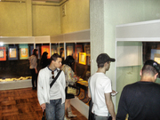 people in exibition ANY PENNY project