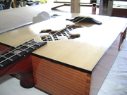 Acoustic three stringer completed!