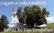 """Legyen a székelyföldi csíkszentléleki hárs az """"Év Fája"""" Európában!"""