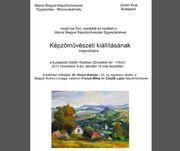 Maros Megyei Képzőművészek Egyesületének kiállítása