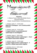 Ozsváth Sándor magyarságismeret előadássorozata