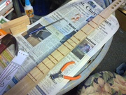 Frets trimmed