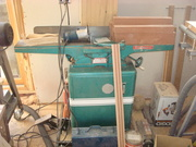 DSC01707 Settin up new shop  Powermatic 6inch jointer