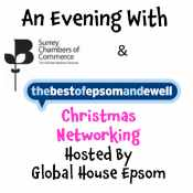 FREE Christmas Networking Evening with thebestof Epsom and Ewell and Surrey Chambers, Epsom
