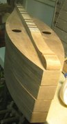 Ready to glue up neck