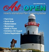 Art in the Open 2013: plein air painting festival