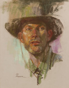 """Ned Mueller - Three day Portrait drawing and Painting Workshop at """"The Swallowsnest Studio"""", Wexford"""