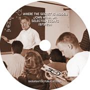 CD LABEL DESIGN FOR JOHN HELD, JR.'S CD/PDF BOOK (2011)