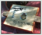 Fly Blues Air Cigar Box Guitar