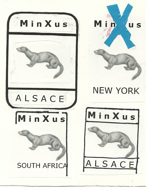 MinXus stamp designs