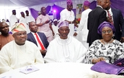 GOV. AMBODE AT 80TH BIRTHDAY CEREMONY OF APC CHIEFTAIN, PRINCE TAJUDEEN OLUSI