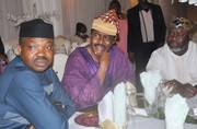 Chief Emeka Anyaoku, Aremo Osoba, Kayode Fayemi, Mimiko at  Dinner Reception honour Prof. Jide Osuntokun in Lagos- 6