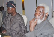 Chief Emeka Anyaoku, Aremo Osoba, Kayode Fayemi, Mimiko at  Dinner Reception honour Prof. Jide Osuntokun in Lagos- 12