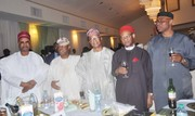 dinner reception celebration in honour of prof osuntokun