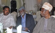 Chief Emeka Anyaoku, Aremo Osoba, Kayode Fayemi, Mimiko at  Dinner Reception honour Prof. Jide Osuntokun in Lagos- 5