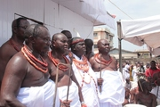 A cross section of some Bini Chiefs.