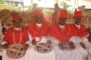 A cross section of Okpe Chiefs.