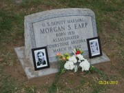 Morgan Earp Grave site