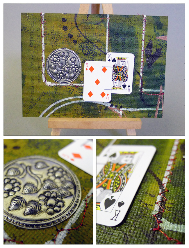 Canvas Collage from Sue Hobbs