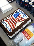 EF Higgins bday cake