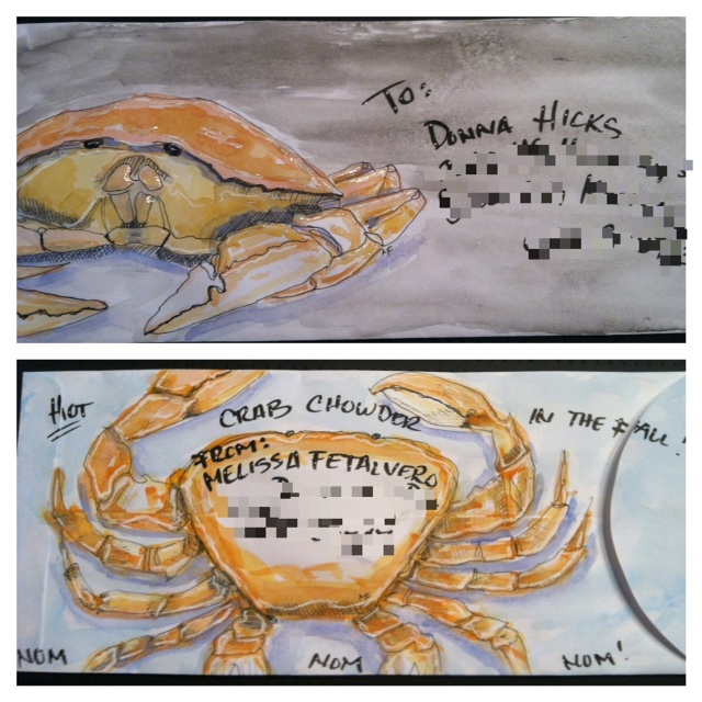 Dungeness Crab Envie