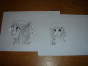Manga mail art