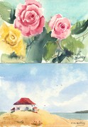roses / the little house