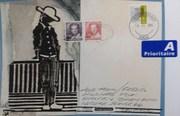 Mail Art no: 3  Katerina Nikoltsou, Greece