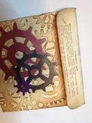 Steampunk Envelope - back