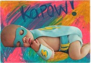 "A ""PLUMP CHILD"" mailart from Laura Elizabeth"