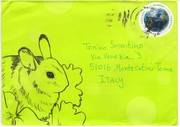 A Rabbit Envelope by Shellie Lewis (Chicago)