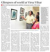 The Tribune... News about the TIAS:BIENNALE,INDIA-An International Photography Show,2014