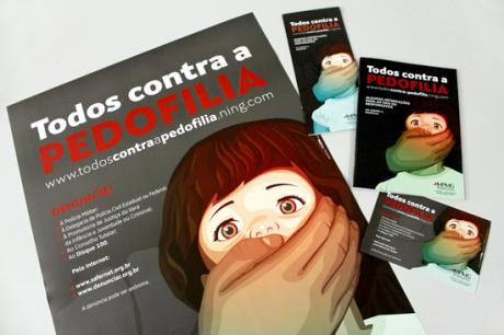 MP MG material - Todos Contra a Pedofilia