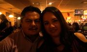 con mi bella esposa