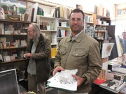 Mail art meeting with Rod Summers