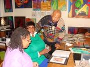 David Geary - Diasporal Rhythmns Studio Visit - 12.4.12