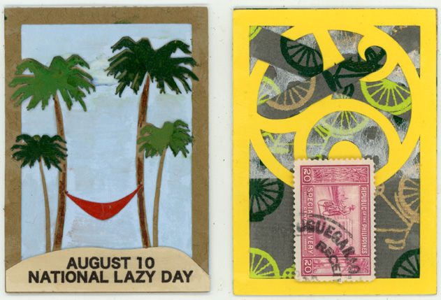 ATCs from Denise Woodward