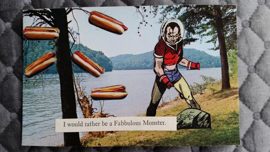 Philpott Lake - hot dog tree
