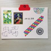 June 11 mail art